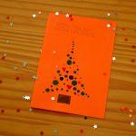 DIY Weihnachtskarten und die Gewinner