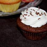Schoko-Haselnuss-Cupcakes