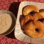 Sonja backt: Apfelküchlein mit Vanillesoße