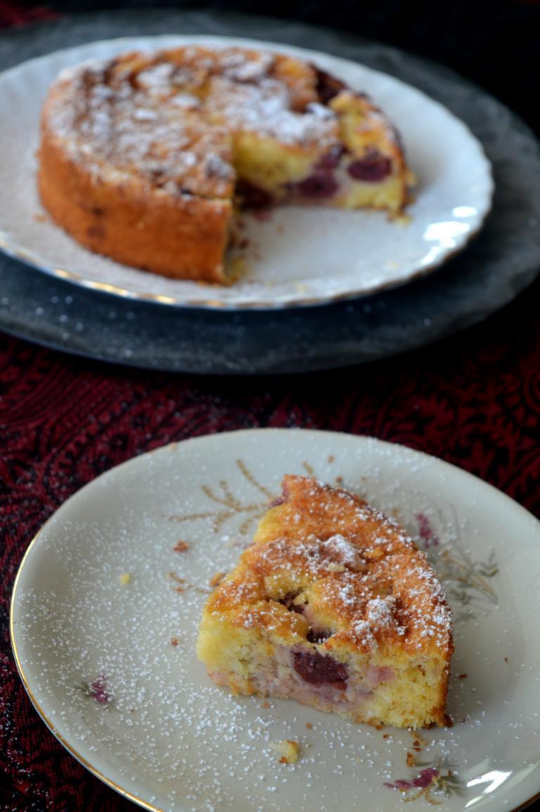 Kirsch Griess Kuchen Sarah S Backblog