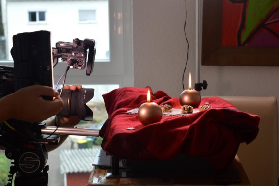 ZDF Drehscheibe Haselnussplätzchen Teller