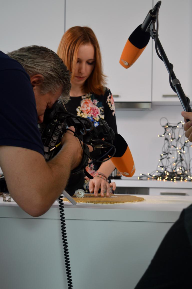 ZDF Drehscheibe, hinter den Kulissen